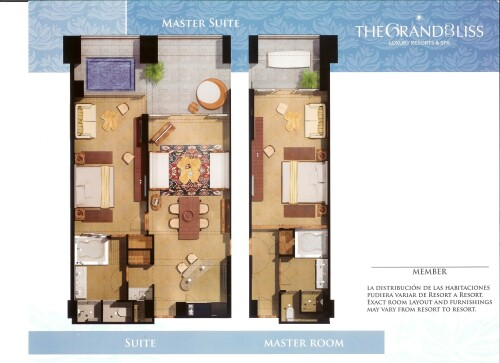 The Grand Bliss Master Suite Floor Plan