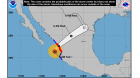Hurricane Willa is moving north and away from Nuevo Vallarta.  All is clear now, but there may be high waters if heavy amounts of rain fall in the Sierra Madre. - 10/23/18