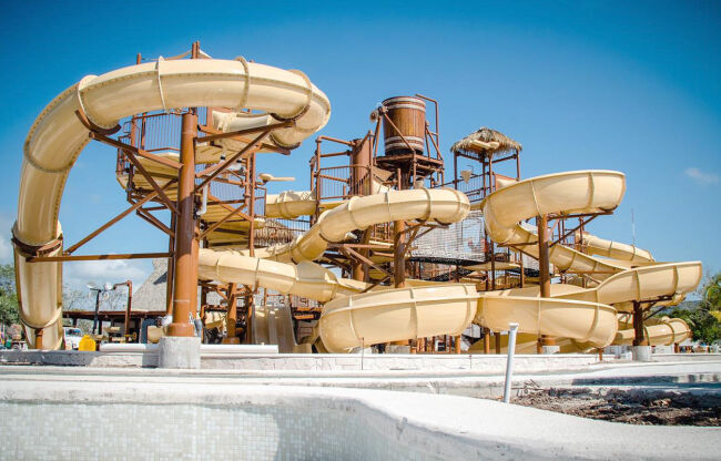 Jungala has a number of Water Slides to choose from.