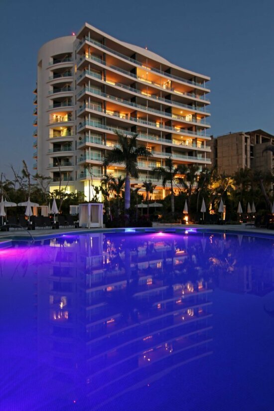 Dave and Terrina's Image of the Grand Luxxe Tower I, Nuevo Vallarta, Mexico.  Thank You, Dave and Terrina....